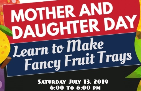 Mother and daughter event-June  26