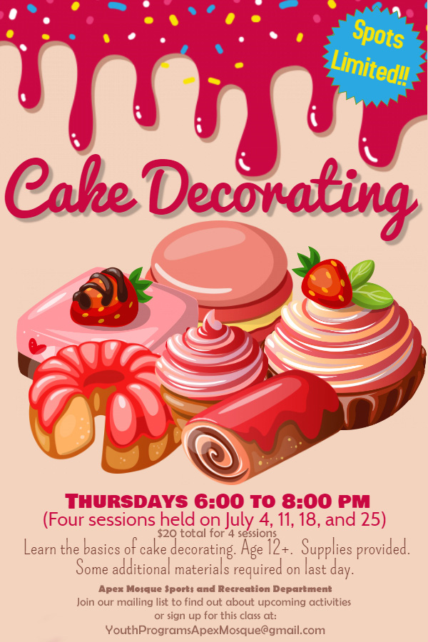 cake decorating flyer-June 26