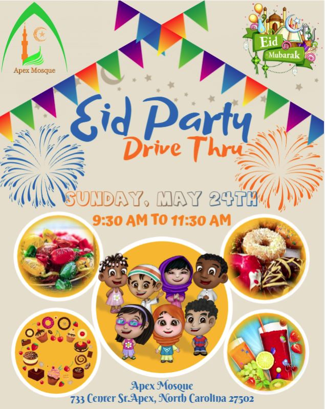 Eid AlFitr party flyer