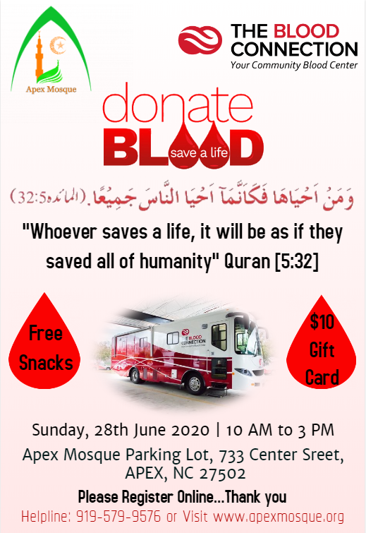 Am Blood Drive website form